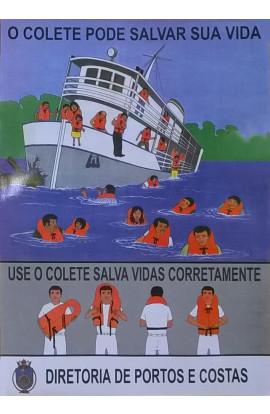 TABELAS DE USO E CONSERVAÇÃO DE COLETES SALVA VIDAS - DPC