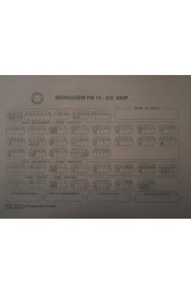 IMPRESSO - MENSAGEM FM13-XIV SHIP